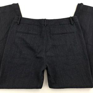 THEORY FLAT FRONT WOOL SLACKS PANTS 8